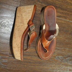 Leather COACH Wedge 6.5